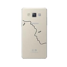 voordelige Galaxy A5(2016) Hoesjes / covers-hoesje Voor Samsung Galaxy A3 (2017) / A5 (2017) / A7 (2017) Patroon Achterkant Lijnen / golven / Hart / Sexy dame Zacht TPU