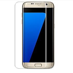 Недорогие Чехлы и кейсы для Galaxy S-Samsung GalaxyScreen ProtectorS7 edge 3D закругленные углы Защитная пленка для экрана и задней панели 2 штs TPG Hydrogel