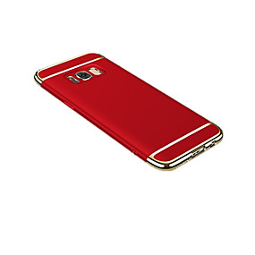 voordelige Galaxy S7 Edge Hoesjes / covers-hoesje Voor Samsung Galaxy S8 Plus / S8 / S7 edge Ultradun / Origami Achterkant Effen Hard PC