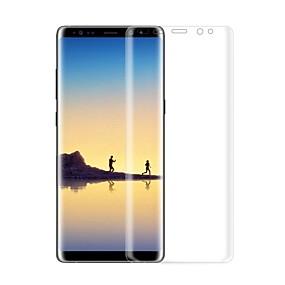 olcso Galaxy Note Képernyővédő fóliák-Samsung GalaxyScreen ProtectorNote 8 3D gömbölyített szélek Kijelzővédő és hátlap fólia 2 db TPU hidrogél