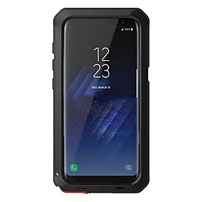 voordelige Galaxy S6 Edge Plus Hoesjes / covers-hoesje Voor Samsung Galaxy S8 Plus / S8 / S7 edge Schokbestendig Volledig hoesje Schild Hard Metaal