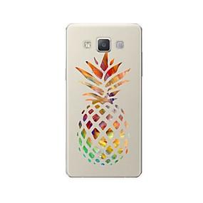 voordelige Galaxy A5(2016) Hoesjes / covers-hoesje Voor Samsung Galaxy A3 (2017) / A5 (2017) / A7 (2017) Patroon Achterkant Cartoon / Fruit Zacht TPU