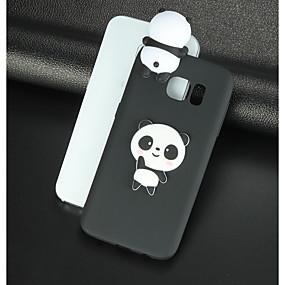povoljno Kupuj prema modelu telefona-Θήκη Za Samsung Galaxy S8 Plus / S8 / S7 edge Uzorak / Uradi sam Stražnja maska 3D likovi / Panda Mekano TPU