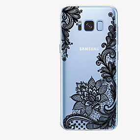 voordelige Galaxy S7 Edge Hoesjes / covers-hoesje Voor Samsung Galaxy S8 Plus / S8 / S7 edge Patroon Achterkant Lace Printing Zacht TPU