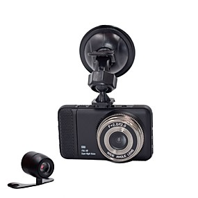 voordelige Auto-elektronica-848 x 480 / 1280 x 720 / 1440 x 1080 Auto DVR 170 graden Wijde hoek 3 inch(es) Dash Cam met G-Sensor / Parkeermodus Neen Autorecorder / 1920 x 1080