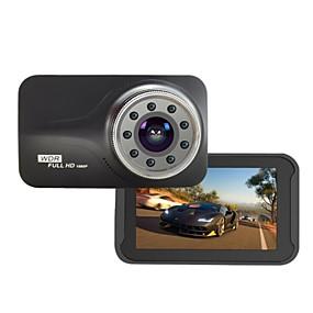 Недорогие Видеорегистраторы для авто-Ик-свет ночного видения novatek ntk96223 fhd 1080 P g-сенсор 170 градусов 3 дюймов автомобильный видеорегистратор t639 видеорегистратор автомобильный детектор