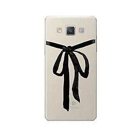 voordelige Galaxy A5(2016) Hoesjes / covers-hoesje Voor Samsung Galaxy A3 (2017) / A5 (2017) / A7 (2017) Patroon Achterkant Lijnen / golven / Cartoon Zacht TPU
