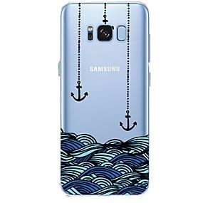 voordelige Galaxy S7 Edge Hoesjes / covers-hoesje Voor Samsung Galaxy Patroon Anker Zacht