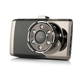 Недорогие Видеорегистраторы для авто-1080p Автомобильный видеорегистратор 140° Широкий угол 3 дюймовый Капюшон с Ночное видение 6 инфракрасных LED Автомобильный рекордер