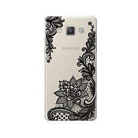 voordelige Galaxy A7(2016) Hoesjes / covers-hoesje Voor Samsung Galaxy A3 (2017) / A5 (2017) / A7 (2017) Patroon Achterkant Lace Printing Zacht TPU