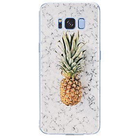 voordelige Galaxy S6 Edge Plus Hoesjes / covers-hoesje Voor Samsung Galaxy S8 Plus / S8 / S7 edge Patroon Achterkant Fruit / Marmer Zacht TPU