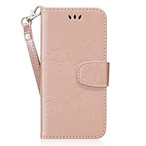 Недорогие Чехлы и кейсы для Galaxy S5 Mini-Кейс для Назначение Samsung S8 Plus / S8 / S7 edge Бумажник для карт / со стендом / Флип Чехол С сердцем Твердый Кожа PU
