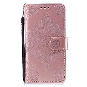 voordelige Huawei Honor hoesjes / covers-hoesje Voor Huawei Honor 7 / Huawei P9 Lite / Huawei P10 Lite / Huawei P9 Lite / P8 Lite (2017) Portemonnee / Kaarthouder / met standaard Volledig hoesje Effen Hard PU-nahka