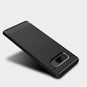 Недорогие Чехлы и кейсы для Galaxy Note 8-Кейс для Назначение SSamsung Galaxy Note 8 Матовое Кейс на заднюю панель Однотонный Мягкий ТПУ