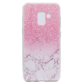 voordelige Galaxy A5(2016) Hoesjes / covers-hoesje Voor Samsung Galaxy A3 (2017) / A5 (2017) / A7 (2017) Transparant / Patroon Achterkant Marmer Zacht TPU