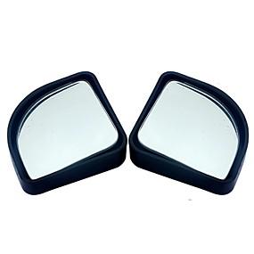 olcso Rear View Monitor-2db / ló autó kiegészítők kicsi kerek tükör tükrös visszapillantó tükör nagy látószögű objektív 360 fokos forgatás állítható