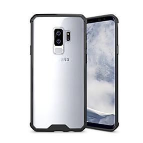 voordelige Galaxy S7 Edge Hoesjes / covers-hoesje Voor Samsung Galaxy S9 / S9 Plus / S8 Plus Schokbestendig / Transparant Achterkant Effen Hard Acryl
