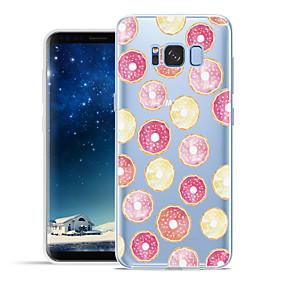 voordelige Galaxy S6 Edge Plus Hoesjes / covers-hoesje Voor Samsung Galaxy S8 Plus / S8 / S7 edge Patroon Achterkant Fruit Zacht TPU