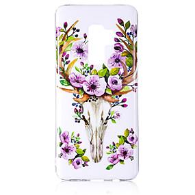 economico Galaxy S7 Edge Custodie / cover-Custodia Per Samsung Galaxy S9 / S9 Plus / S8 Plus Fosforescente / IMD / Fantasia / disegno Per retro Animali / Brillare Morbido TPU