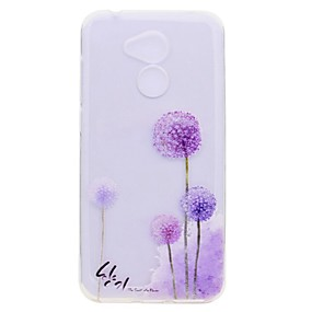 voordelige Huawei Honor hoesjes / covers-hoesje Voor Huawei Honor 9 / Huawei Honor 9 Lite / Honor 8 Transparant / Patroon Achterkant Paardebloem Zacht TPU