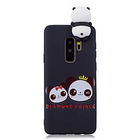 voordelige Galaxy S7 Hoesjes / covers-hoesje Voor Samsung Galaxy S9 / S9 Plus / S8 Plus Patroon Achterkant Panda Zacht TPU