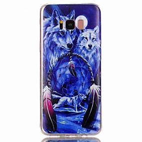 voordelige Galaxy S6 Edge Plus Hoesjes / covers-hoesje Voor Samsung Galaxy S8 Plus / S8 / S7 edge Patroon Achterkant dier Zacht TPU