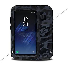 olcso Galaxy S8 tokok-Case Kompatibilitás Samsung Galaxy S8 Plus / S8 Víz / Dirt / ütésálló Héjtok Egyszínű Kemény Fém