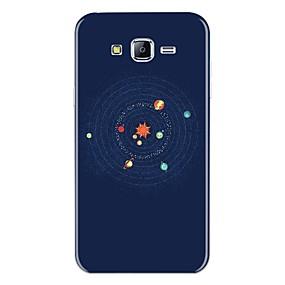 Недорогие Чехлы и кейсы для Galaxy J5(2016)-Кейс для Назначение SSamsung Galaxy J7 (2017) / J7 (2016) / J7 С узором Кейс на заднюю панель Мультипликация Мягкий ТПУ