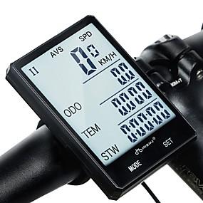 ieftine Accesorii Ciclism & Biciclete-INBIKE Kilometraj Bicicletă Impermeabil Cronometru Fără fir Ciclism stradal Ciclism / Bicicletă Ciclism