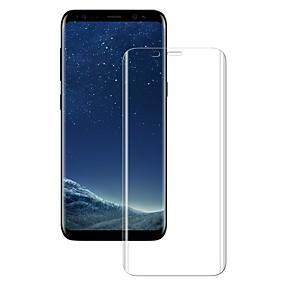 Недорогие Чехлы и кейсы для Galaxy S-Защитная плёнка для экрана для Samsung Galaxy S8 Закаленное стекло 1 ед. Защитная пленка для экрана HD / Уровень защиты 9H / Взрывозащищенный