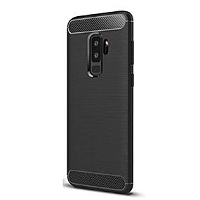 voordelige Galaxy S6 Edge Plus Hoesjes / covers-hoesje Voor Samsung Galaxy S9 / S9 Plus / S8 Plus Schokbestendig Achterkant Effen Zacht TPU