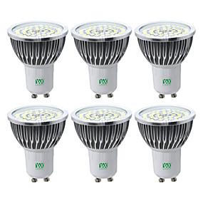 זול תאורת ספוט לד-YWXLIGHT® 6pcs 7 W תאורת ספוט לד 600-700 lm GU10 48 LED חרוזים SMD 2835 לבן חם לבן קר לבן טבעי
