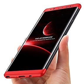 voordelige Galaxy S7 Edge Hoesjes / covers-hoesje Voor Samsung Galaxy S8 Plus / S8 / S7 edge Schokbestendig / Ultradun Volledig hoesje Effen Hard Muovi