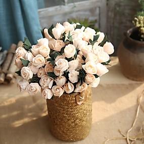 levne Umělé květiny-Umělé květiny 1 Větev Svatba evropský styl Tupilán Květina na stůl