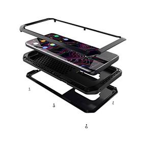 voordelige Galaxy S6 Edge Plus Hoesjes / covers-hoesje Voor Samsung Galaxy S9 / S9 Plus / S8 Plus Schokbestendig / Schild Volledig hoesje Schild Hard Metaal