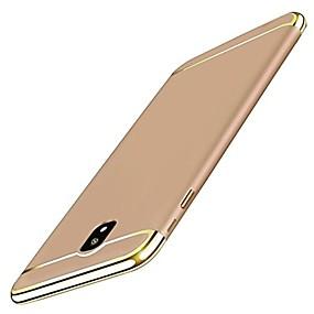 voordelige Galaxy J5(2017) Hoesjes / covers-hoesje Voor Samsung Galaxy J7 (2017) / J5 (2017) / J3 (2017) Beplating Achterkant Effen Hard PC