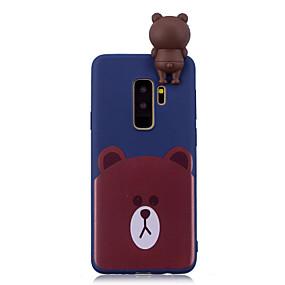 voordelige Galaxy S7 Hoesjes / covers-hoesje Voor Samsung Galaxy S9 / S9 Plus / S8 Plus Patroon Achterkant dier Zacht TPU