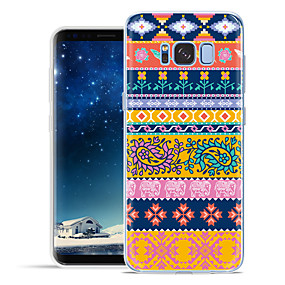 voordelige Galaxy S6 Edge Plus Hoesjes / covers-hoesje Voor Samsung Galaxy S8 Plus / S8 / S7 edge Patroon Achterkant Cartoon Zacht TPU