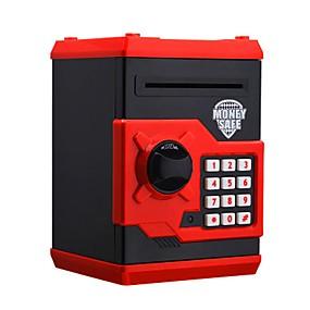 povoljno Nove igračke-Coin Bank Elektronička piggy banka Kutija Obitelj Lijep Fin Automatski Plastično kućište za Dječji Odrasli Dječaci Djevojčice