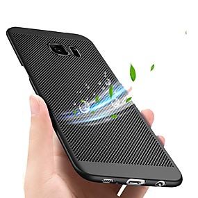 voordelige Galaxy S7 Edge Hoesjes / covers-hoesje Voor Samsung Galaxy S9 / S9 Plus / S8 Plus Ultradun Achterkant Effen Hard Muovi