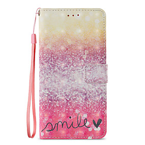 voordelige Galaxy S7 Hoesjes / covers-hoesje Voor Samsung Galaxy S9 / S9 Plus / S8 Plus Portemonnee / Kaarthouder / met standaard Volledig hoesje Landschap Hard PU-nahka