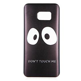 voordelige Galaxy S7 Edge Hoesjes / covers-hoesje Voor Samsung Galaxy S8 Plus / S8 / S7 edge Patroon Achterkant Woord / tekst / Cartoon Zacht TPU