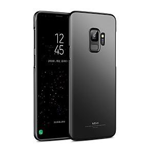 voordelige Galaxy S7 Hoesjes / covers-hoesje Voor Samsung Galaxy S9 / S9 Plus / S8 Plus Ultradun Achterkant Effen Kleur Hard PC