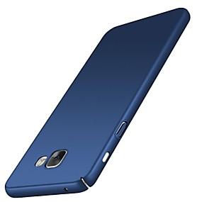 Недорогие Чехлы и кейсы для Galaxy A7(2016)-Кейс для Назначение SSamsung Galaxy A5(2018) / Galaxy A7(2018) / A3 (2017) Ультратонкий Кейс на заднюю панель Однотонный Твердый ПК