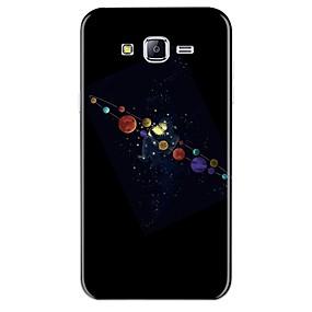 olcso Galaxy J3 tokok-Case Kompatibilitás Samsung Galaxy J7 (2017) / J7 (2016) / J7 Minta Fekete tok Rajzfilm Puha TPU