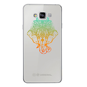 voordelige Galaxy A7(2016) Hoesjes / covers-hoesje Voor Samsung Galaxy A3 (2017) / A5 (2017) / A7 (2017) Patroon Achterkant dier Zacht TPU