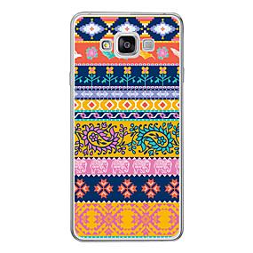 voordelige Galaxy A5(2016) Hoesjes / covers-hoesje Voor Samsung Galaxy A3 (2017) / A5 (2017) / A7 (2017) Patroon Achterkant Cartoon Zacht TPU