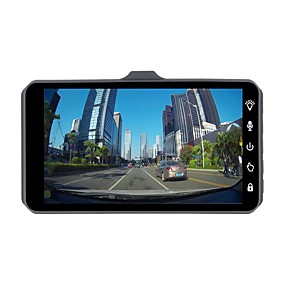 voordelige Auto-elektronica-ziqiao jl-a6t 1080p full hd dual lens auto dvr camera nachtzicht videorecorder parkeermonitor