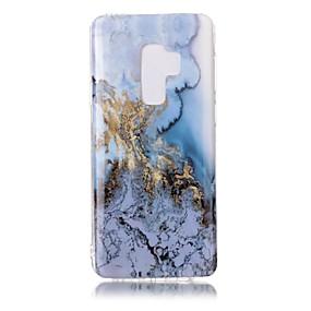 voordelige Galaxy S7 Hoesjes / covers-hoesje Voor Samsung Galaxy S9 / S9 Plus / S8 Plus IMD Achterkant Marmer Zacht TPU