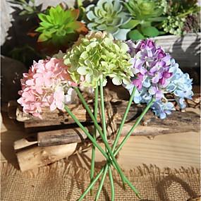 رخيصةأون أزهار اصطناعية-زهور اصطناعية 10 فرع ستايل حديث أرطنسية أزهار الطاولة